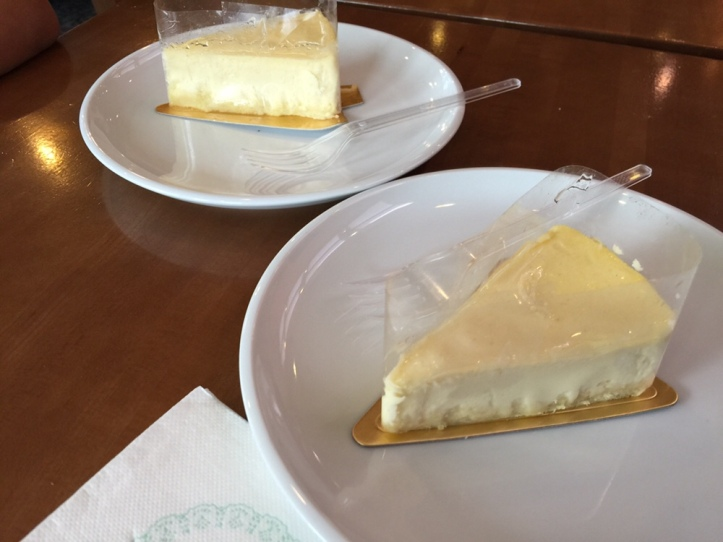 Caribou coffee cheesecake